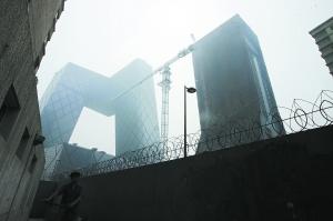 长宁区至央视过火楼启动拆除复建 保持原设计风格