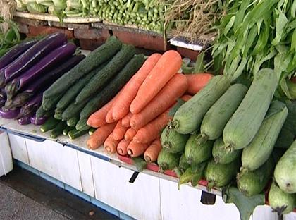 至农产品价格上涨 节前蔬菜批发价涨幅超1成