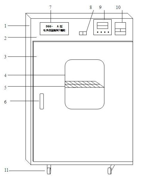 金山区至大型烘箱结构简介
