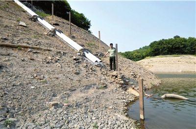至浙江舟山采取限时供水 市民抢购水桶