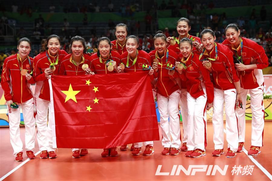铁力至林频仪器播报-时隔12年里约奥运会中国队女排再夺金